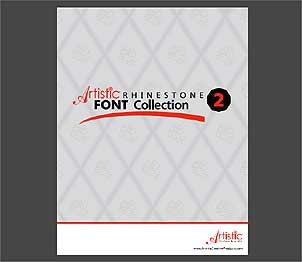 Artistic Rhinestone Font Collection 2