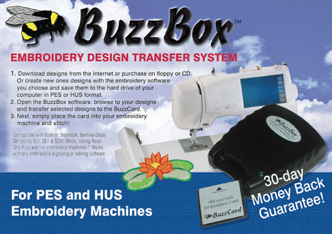 Buzz Tools BuzzBox Embroidery Design Transfer System