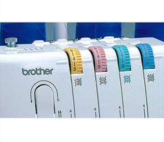 Brother 1034D 3/4-Thread Serger Thread Tension Dials