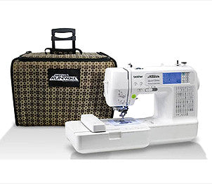 Brother LB6800PRW Project Runway Limited Edition Sewing Embroidery Machine