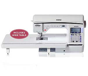 Brother Innov-Is NQ1300PRW Sewing Quilting Machine With Rolling Bag Set
