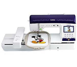 Brother Innov-Is NQ3500D Sewing Embroidery Machine With Rolling Bag Set