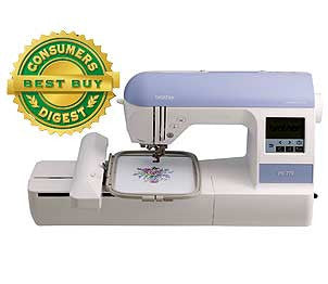 Brother PE770 Computerized Embroidery Machine