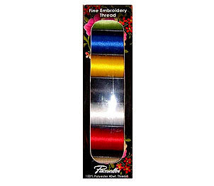 Brother SAEP706 Pacesetter 100% Polyester Embroidery Thread Pack