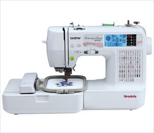 Simplicity SB7500 Sewing Embroidery Machine