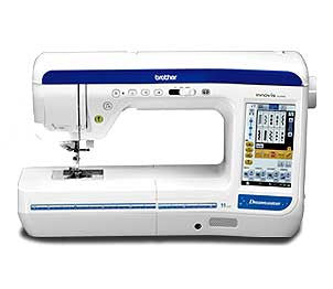 Brother Innov-Is VQ3000 DreamWeaver Sewing Quilting Machine With Travel Bag Set