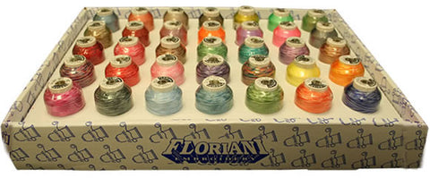 Floriani 35 Cone Creative Thread Collection