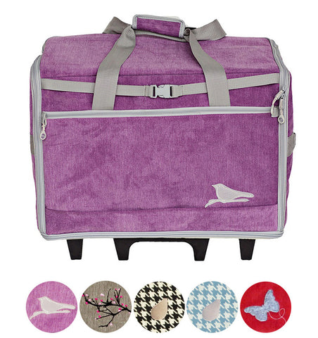 "Bluefig Designer Series 23"" Wheeled Sewing Machine Bag for Large Machines"