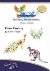 Floriani Embroidery Designs - Floral Fantasy