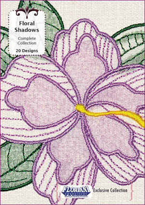 Floriani Embroidery Designs - Floral Shadows