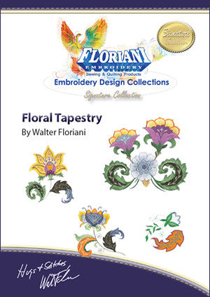 Floriani Embroidery Designs - Floral Tapestry