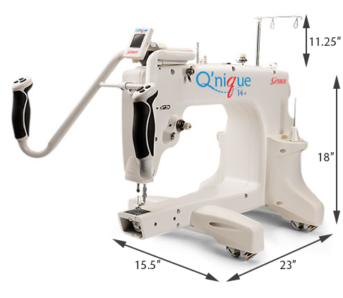 Grace Qnique 14 Inch Mid Arm Quilting Machine Tops