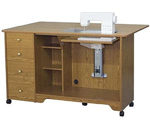 Horn Of America 5680al Elite Airlift Sewing Cabinet