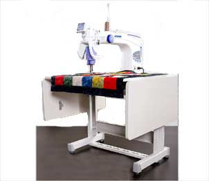 Juki TL2200QVP-S Sit-Down Long Arm Quilting Machine
