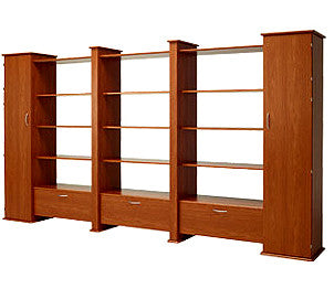 Koala Studios Creative Gallery Wall System Triple Display Unit With 2 Closets