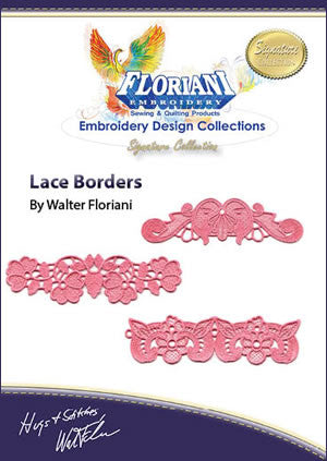 Floriani Embroidery Designs - Lace Borders