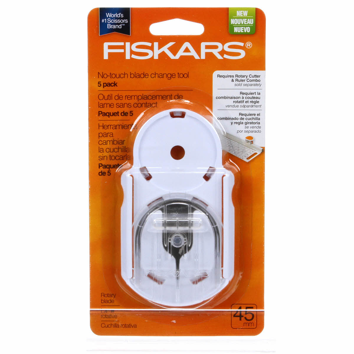 Fiskars<sup>®</sup> No-Touch Blade Change Tool
