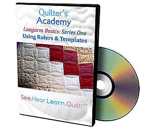 Handi Quilter Longarm Basics 1 Using Rulers And Templates DVD