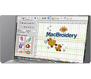 Brother MacBroidery Software
