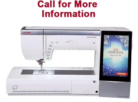 Janome Horizon MC15000 Sewing And Embroidery Machine