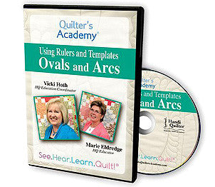 Handi Quilter Using Rulers And Templates, Ovals And Arcs DVD