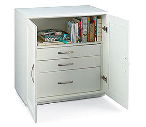 Pfaff Inspira Studio 3 Drawer Supply Cabinet