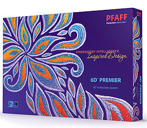Pfaff 6D Premier Embroidery Software