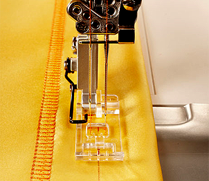 Pfaff Clear Coverstitch Overlock Foot
