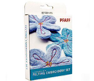 Pfaff Creative Felting Embroidery Set