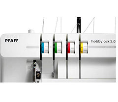 Pfaff Hobbylock 2.0 Color Coded Thread Pathways