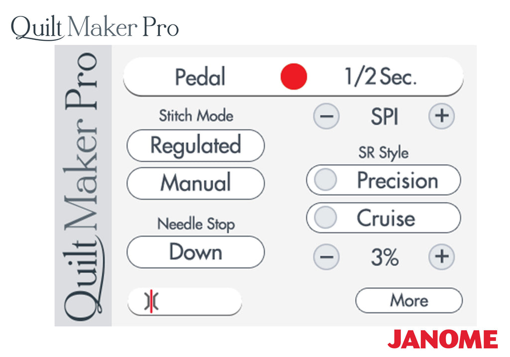 Janome Quilt Maker Pro 18 Quot Longarm Quilter Tops Sewing