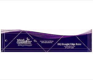 The HQ Ruler Straight Edge 3-Inch x 12-Inch