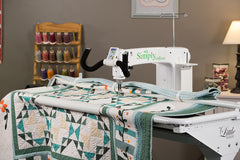 The HQ Simply Sixteen Longarm Quilter