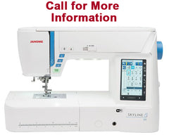Janome Skyline S9 Computerized Sewing and Embroidery Machine