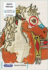 Floriani Embroidery Designs - Spirit Horses
