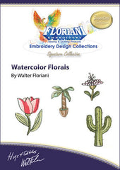 Floriani Embroidery Designs - Watercolor Florals