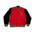 Live Nudes Letterman Jacket (Red/Black)