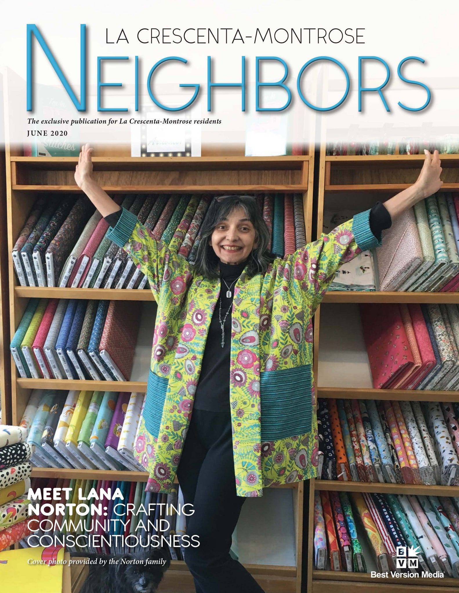 Quilt'n'Things featured in Neighbors Magazine of La Crescenta-Montrose