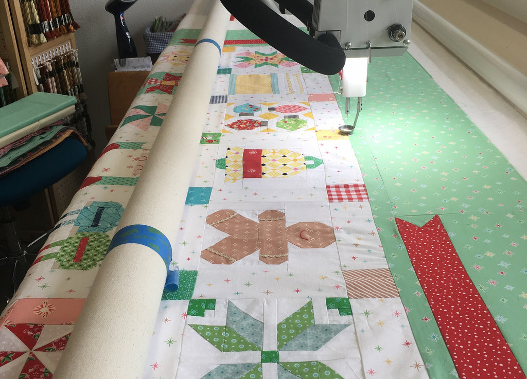 APQS Millie Quilting Long Arm machine at Quilt'n'Things Fiber Arts in La Crescenta, CA
