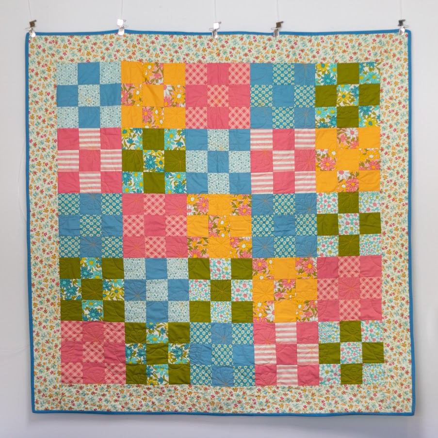 SEW to GO Quilt-in-a-Box, Cheer up Sleepy Jean Quilt cool