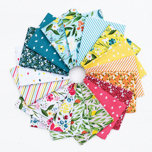 Cora Fat Quarter Bundle - Tessie Fay - Windham Fabrics - Fat Quarters