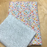 SEW to GO Shirt-in-a-Box, Solstice white floral