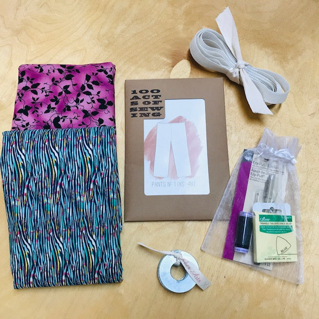 SEW to GO Pants-in-a-Box, Solstice aqua