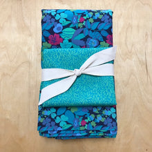 Load image into Gallery viewer, SEW to GO Dress-in-a-Box, Solstice aqua flowers