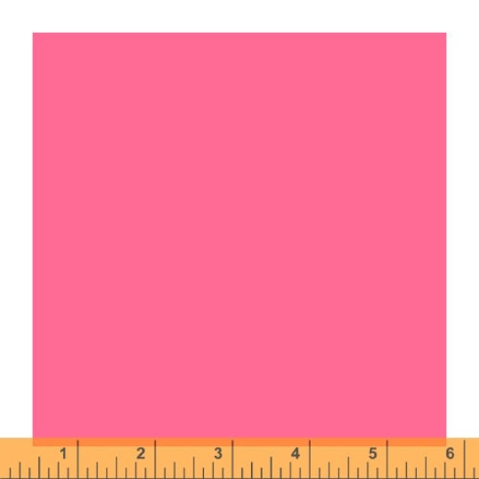 Ruby and Bee - Perfect Pink - 51583-7 - Heather Ross and Annabel Wrigley -  Windham Fabrics - Solids - quilting cotton - 1 yd continuous cut