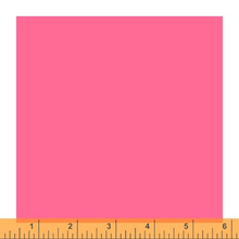 Load image into Gallery viewer, Ruby and Bee - Perfect Pink - 51583-7 - Heather Ross and Annabel Wrigley -  Windham Fabrics - Solids - quilting cotton - 1 yd continuous cut