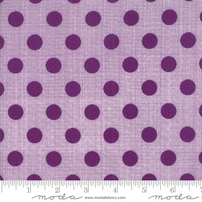 Circulus Movelty Dots Iris purple - Jen Kingwell - Moda Fabrics half yard quilting fabric
