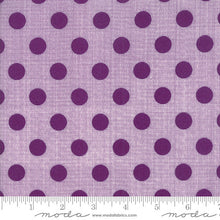 Load image into Gallery viewer, Circulus Movelty Dots Iris purple - Jen Kingwell - Moda Fabrics half yard quilting fabric