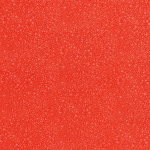 Load image into Gallery viewer, Hopscotch Random Dots Deep Coral - RJR Fabrics half yard quilting fabric - orange