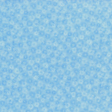 Load image into Gallery viewer, Hopscotch Deconstructed Dandelions Sky - RJR Fabrics half yard quilting fabric - blue